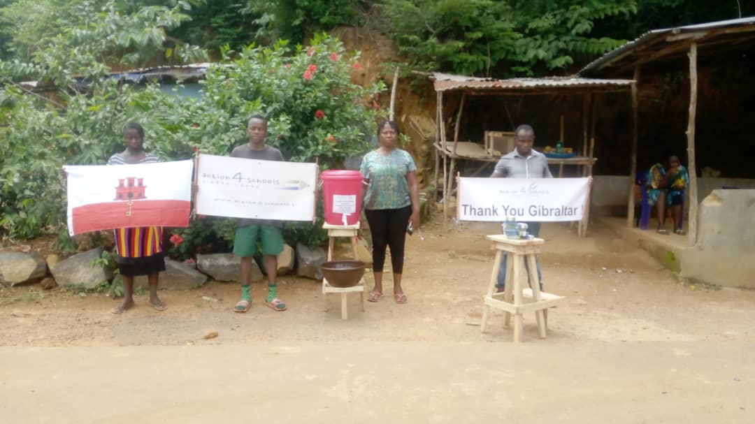 40 sets of wash kits for Regent Village distributed during May 2020 during COVID-19 crisis