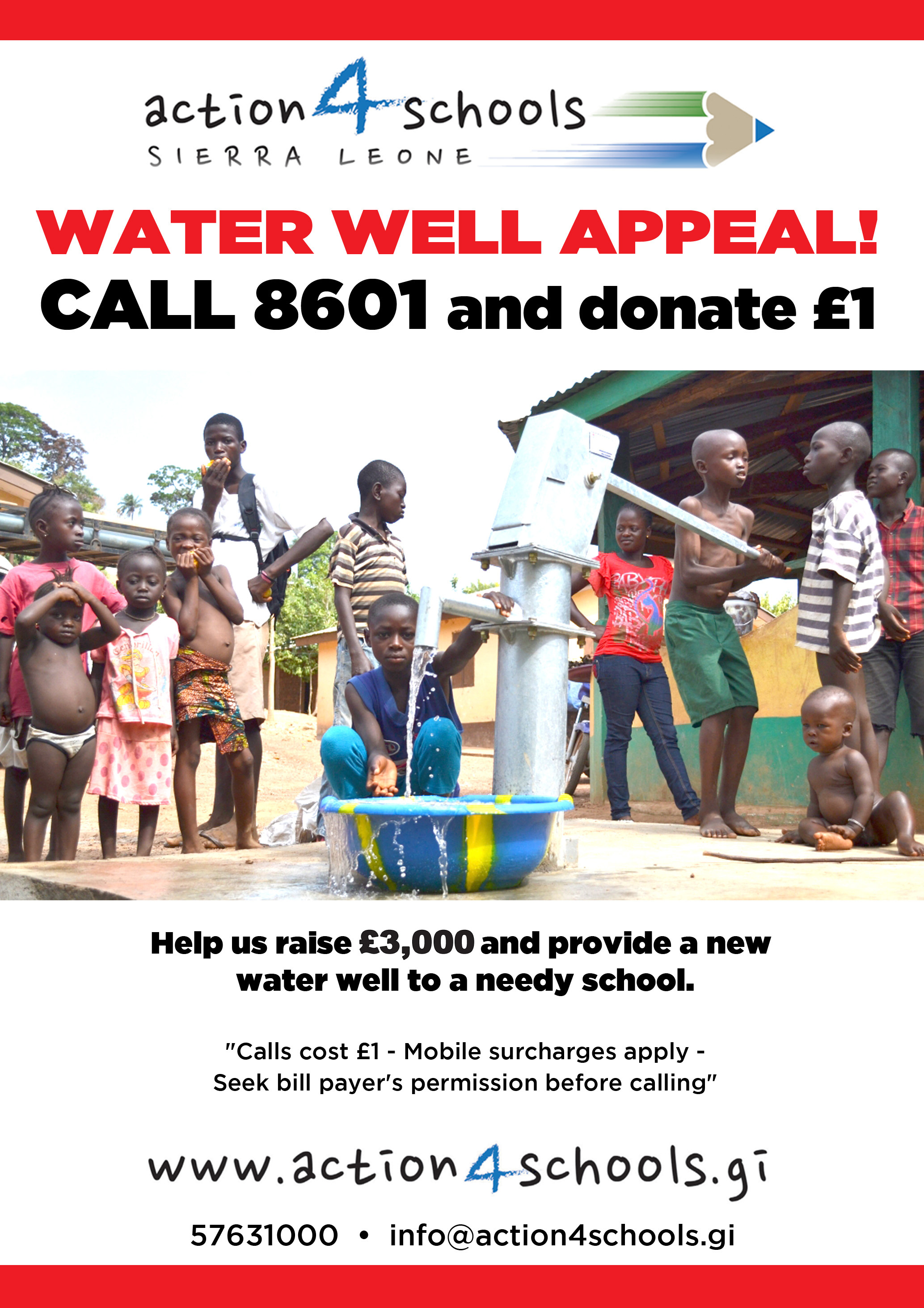 POSTER WATER WELL 8601 £3000