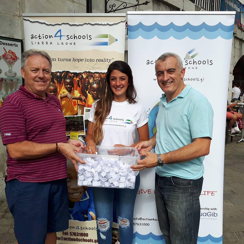 Well done Emma for raising another £1,000 towards our water well project !