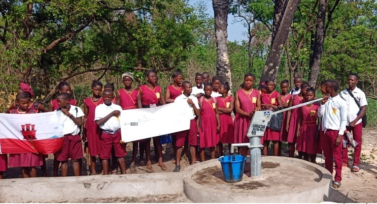 May 2021 - Water Well 69 - WCSL Primary School, Mamabala, Bombali District