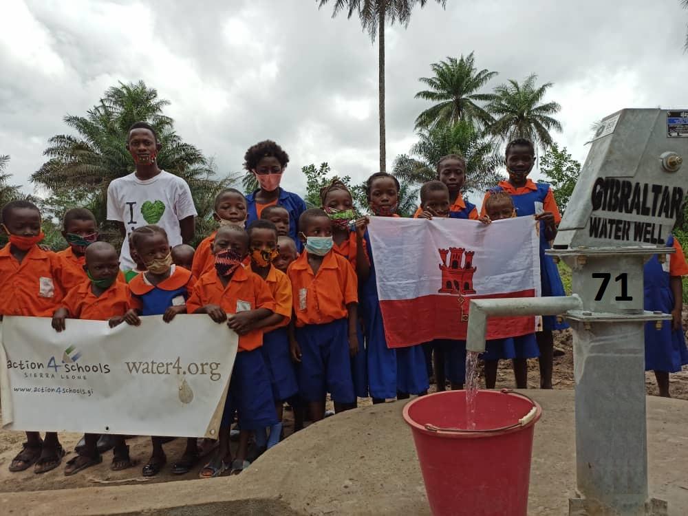 Water Well 71 - Harieelin Academy Primary School, Macomba Village, Western Rural District