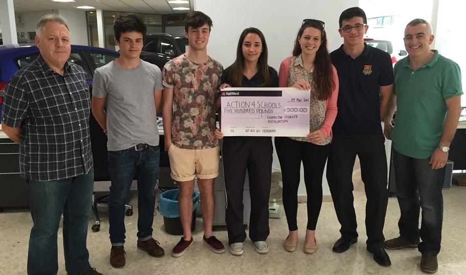 GSA Donation £500