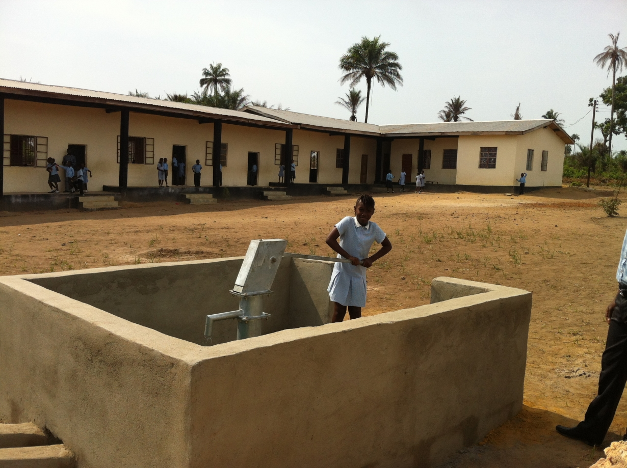 Heaven Homes School Water Well Finished March 2014