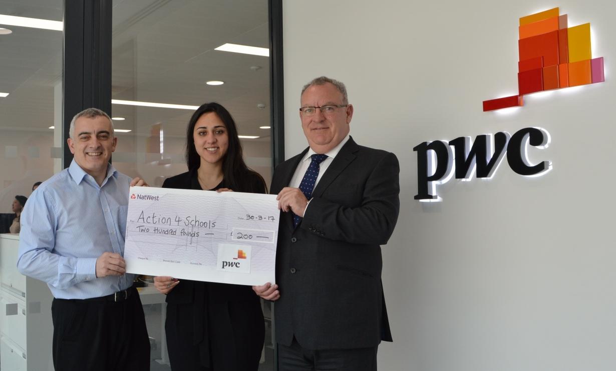 PWC Photo £200 Donation