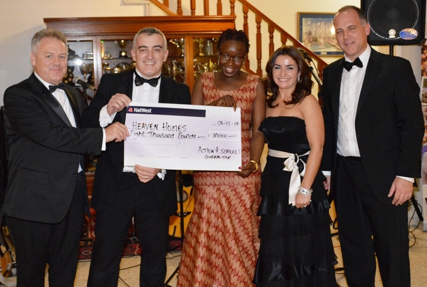 Together we raised £8000 at our Christmas Dinner Dance, thank you for your amazing support!