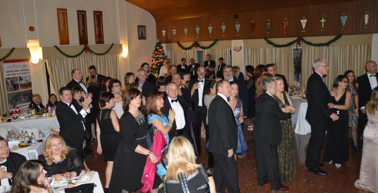 Christmas Dinner Dance - Raised £8,000