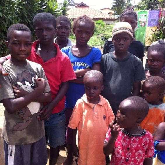 Ebola Orphans – Heaven Homes Project 2015