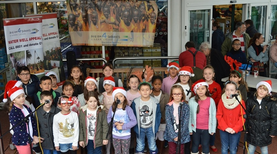 St Paul's First School..... one of 8 school choirs that supported the event. Thank you !!