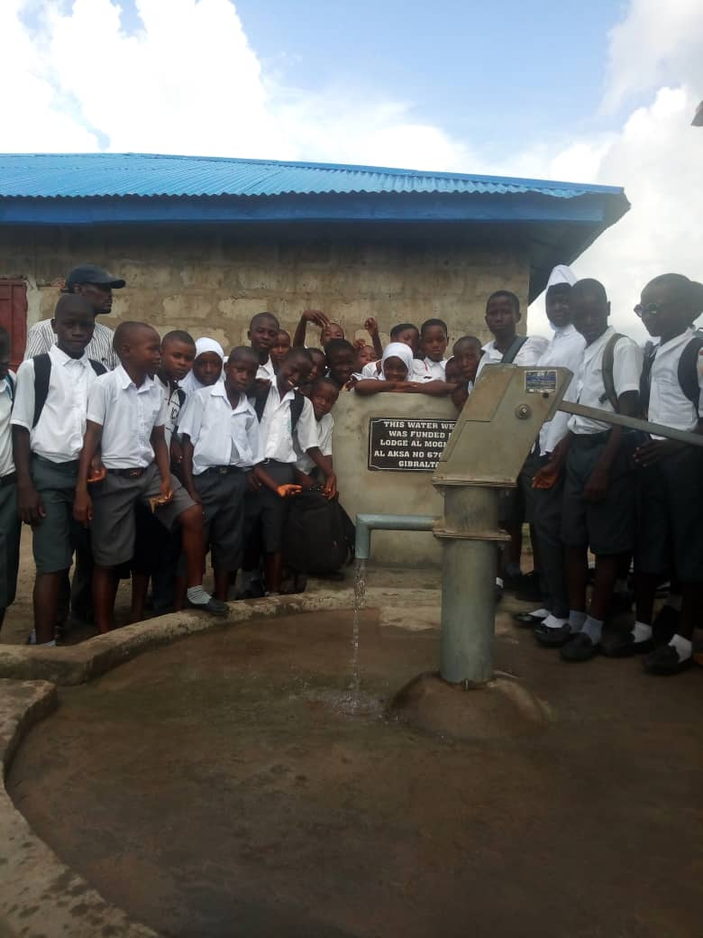 The new water well will change lives !