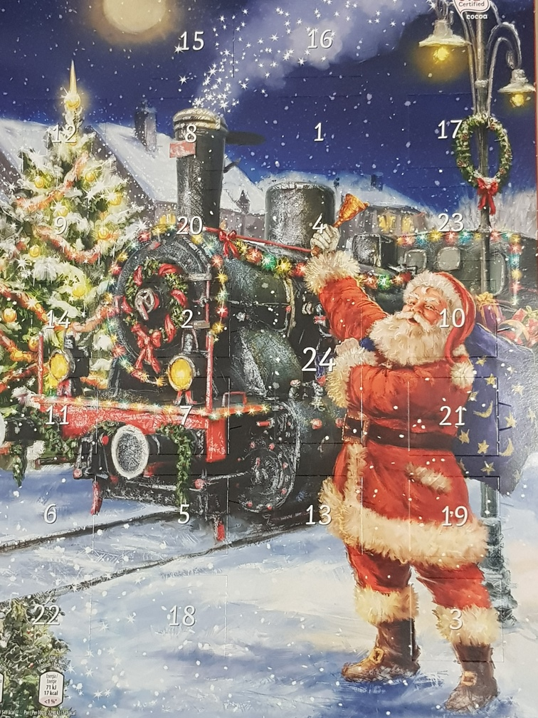 Calendar 1 Santa and Train - Copy
