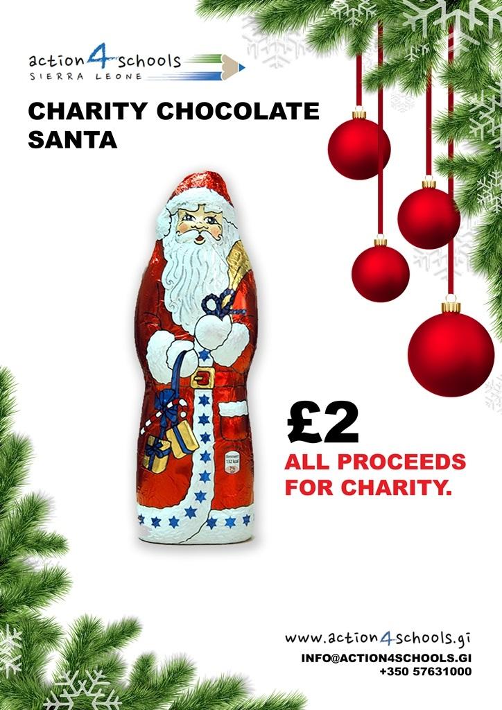 Chocolate Santas Poster 2019
