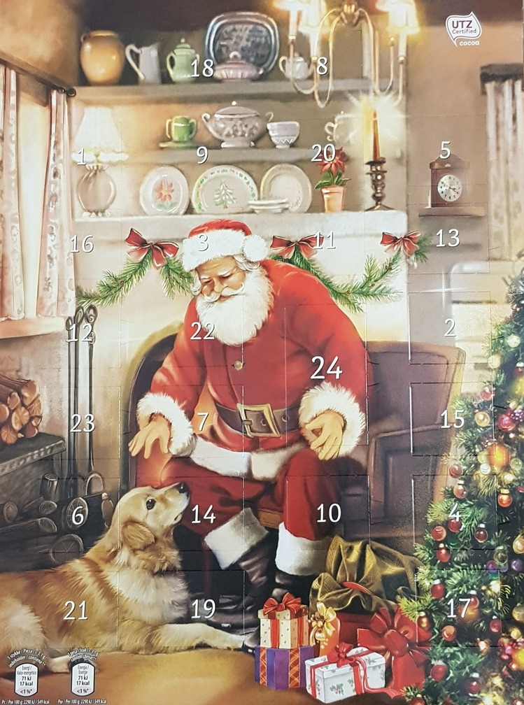 Calendar 3 Santa and Dog - Copy