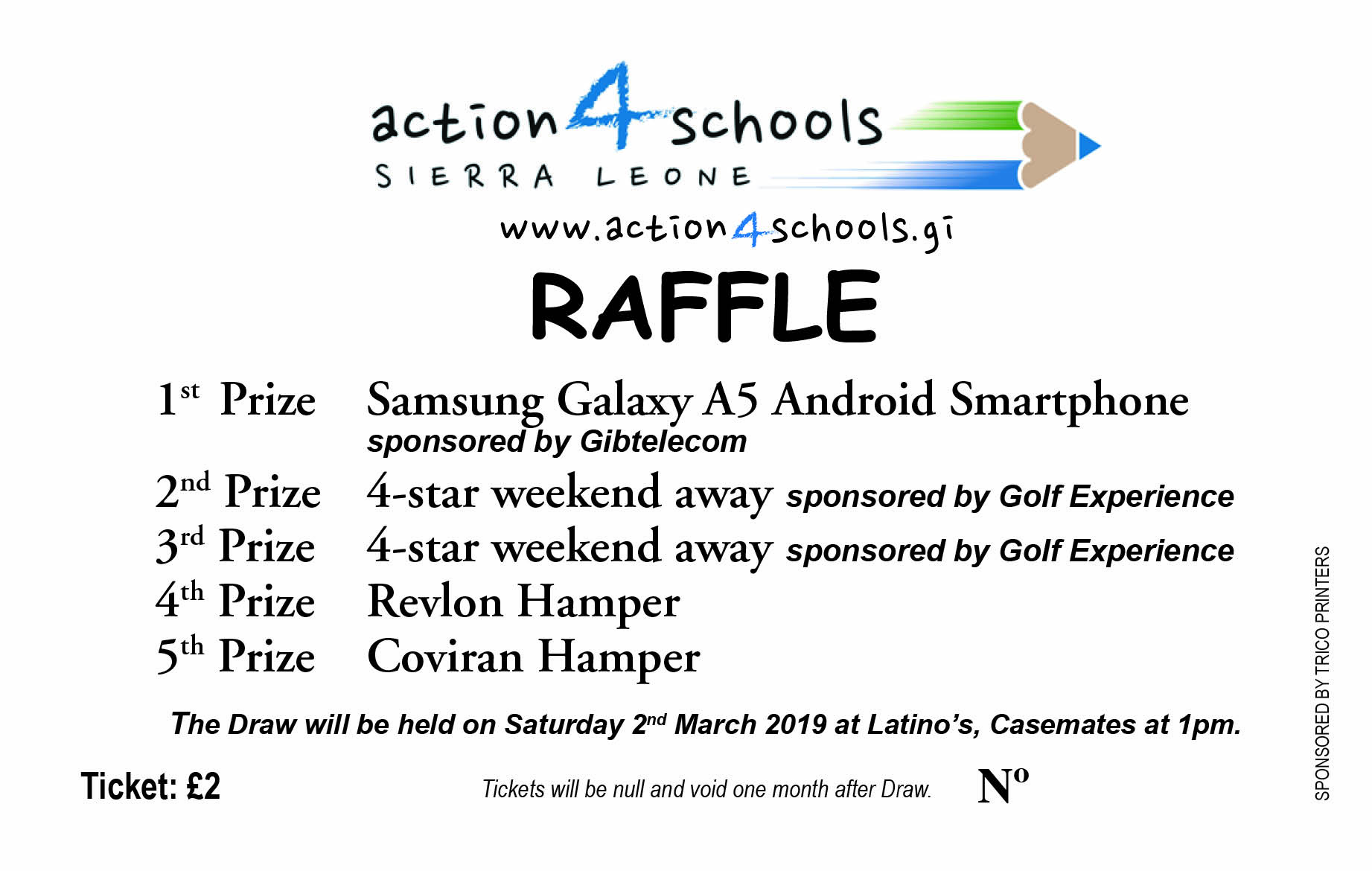 Great prizes... great cause !
