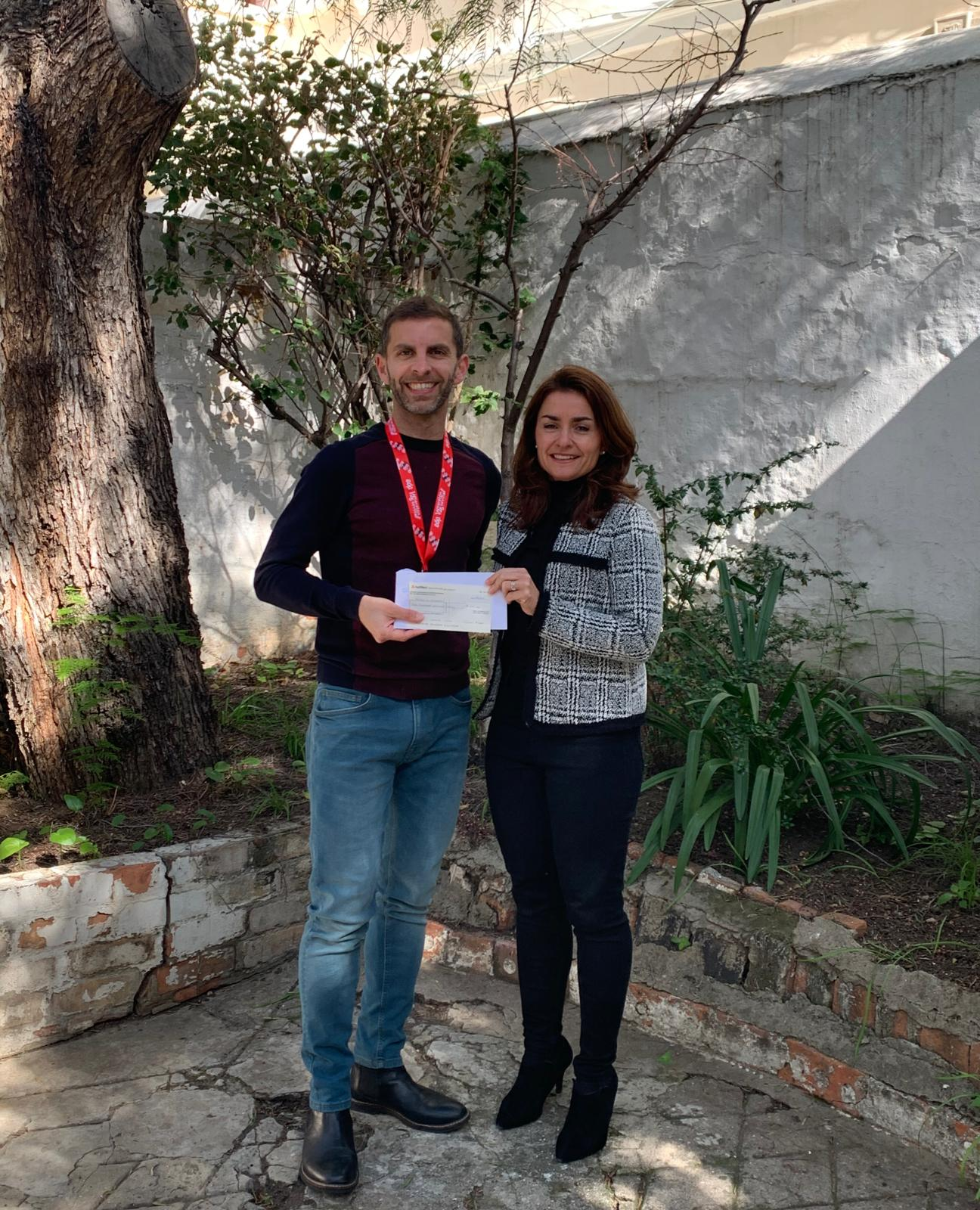 February 2020 - Ivan Ford took part in the Seville Half Marathon and raised £300 for our school projects, thank you Ivan !!