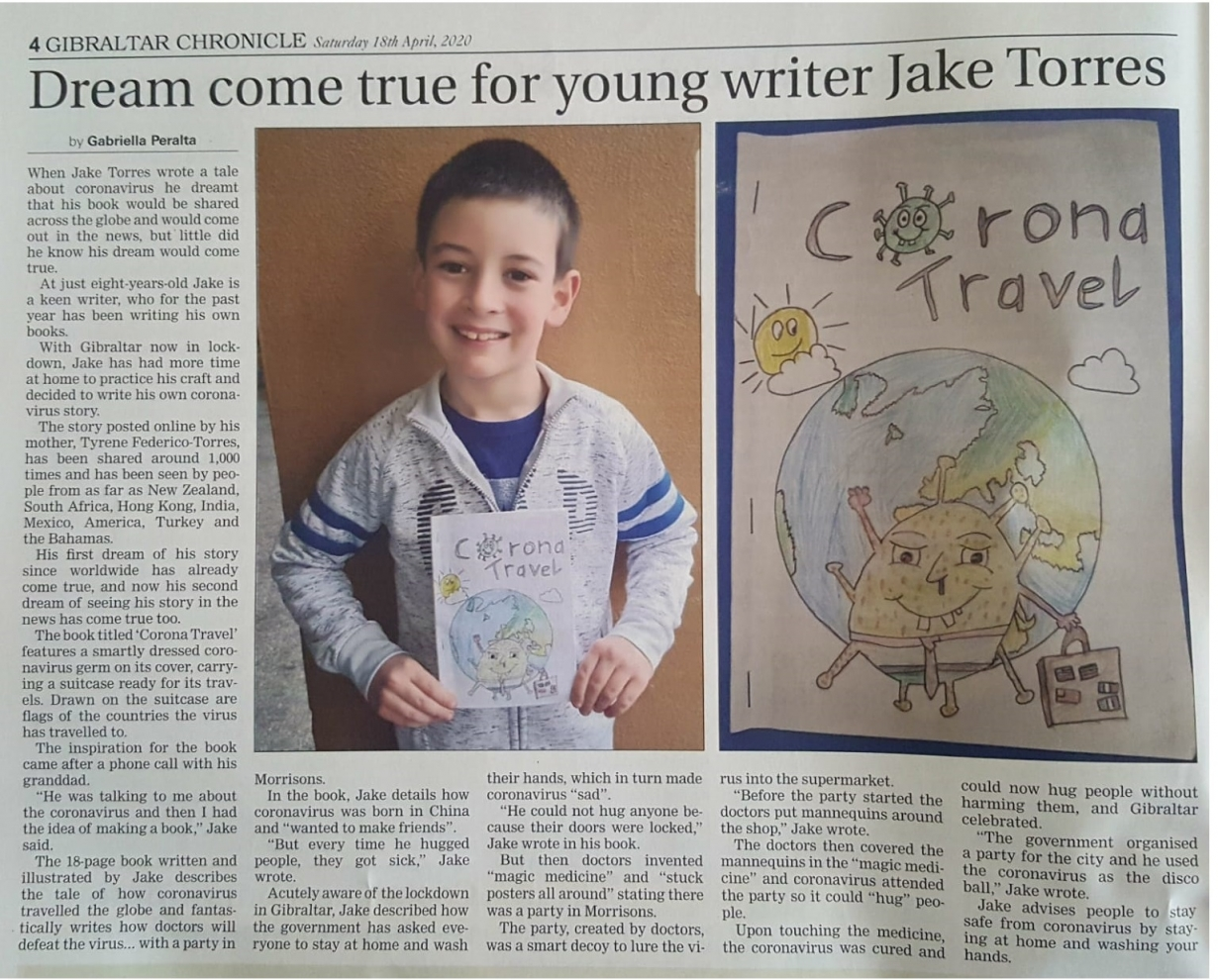 Jake Chronicle 18 April 2020