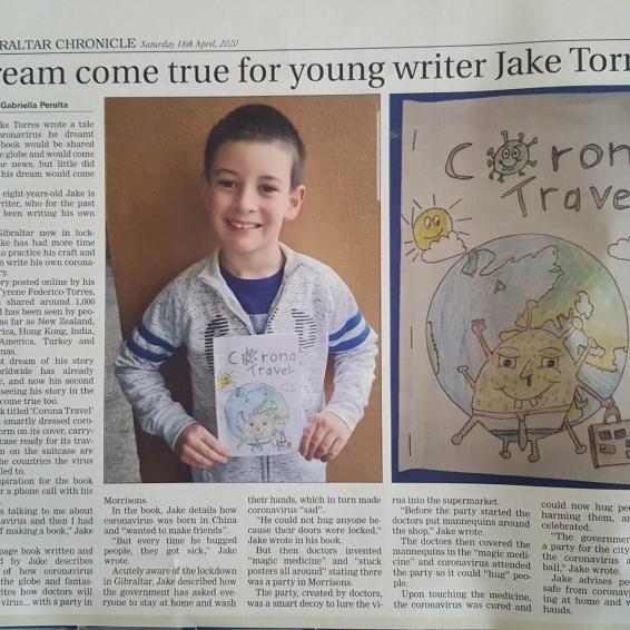 Coronavirus Book – Jake Torres