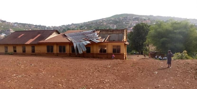 REC Primary School Roof & Toilets Refurbishment – June 2021